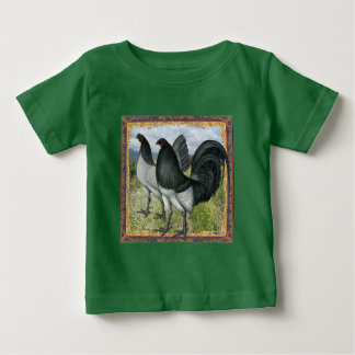 T-shirt Pour Bébé Jeux américains :  Individu bleu ou brun grisâtre