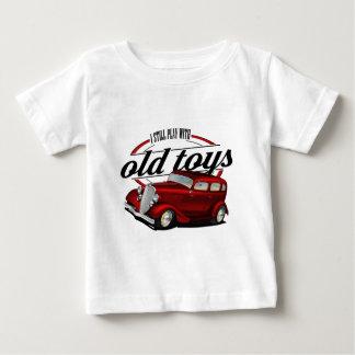 T-shirt Pour Bébé jeux toujours avec de vieilles voitures