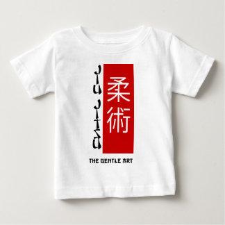T-shirt Pour Bébé Jiu Jitsu - l'art doux