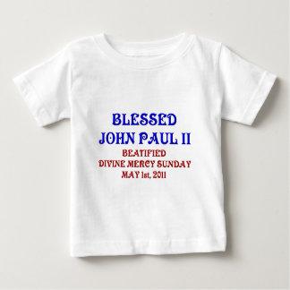 T-shirt Pour Bébé John Paul béni 2