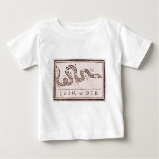 T-shirt Pour Bébé Joignez ou mourez bande dessinée politique de
