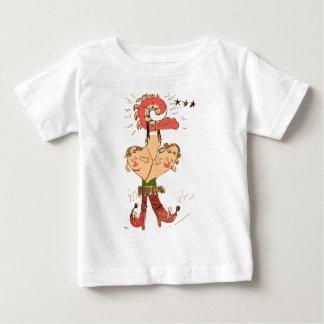 T-shirt Pour Bébé Jointif à la hanche avec des mille-pattes