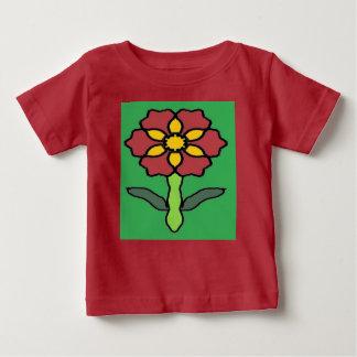 T-shirt Pour Bébé Jolie poinsettia