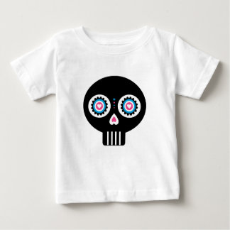 """T-shirt Pour Bébé Jour mexicain du crâne mort de """"Dia de Muertos"""""""