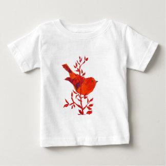 T-shirt Pour Bébé Jungle florale de safari d'éléphant
