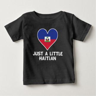T-shirt Pour Bébé Juste haïtien