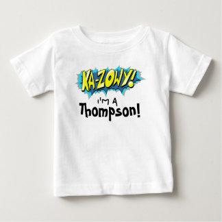 T-shirt Pour Bébé Ka-Zowy de bande dessinée d'art ! Chemise de