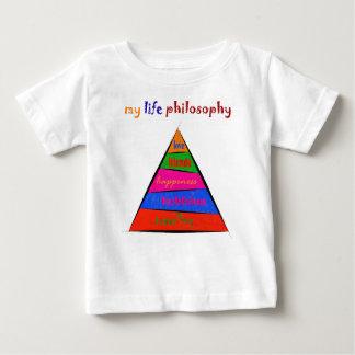 T-shirt Pour Bébé Kephalonissa - ma philosophie de la vie