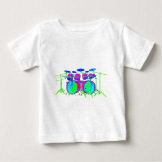 T-shirt Pour Bébé Kit coloré de tambour