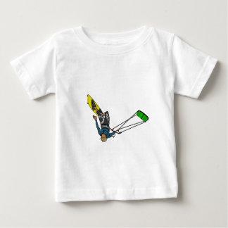 T-shirt Pour Bébé kitesurfer