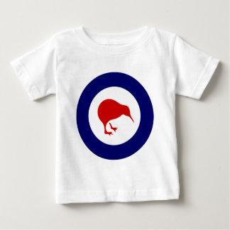 T-shirt Pour Bébé kiwi de rondeau de la Nouvelle Zélande