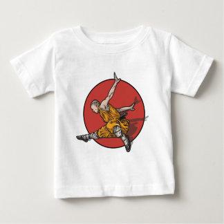 T-shirt Pour Bébé Kung Fu Ninja Master