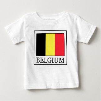 T-shirt Pour Bébé La Belgique