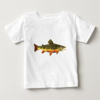 T-shirt Pour Bébé La belle truite de ruisseau