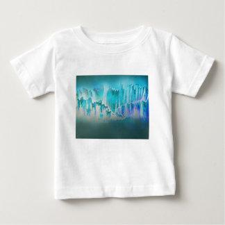 T-shirt Pour Bébé La brume d'hiver entoure les montagnes