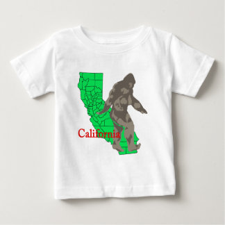 T-shirt Pour Bébé La Californie Bigfoot