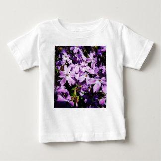 T-shirt Pour Bébé La correction pourpre de fleur