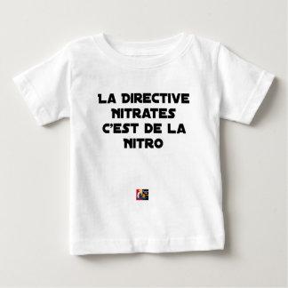 T-shirt Pour Bébé La Directive Nitrates, c'est de la Nitro - Jeux de