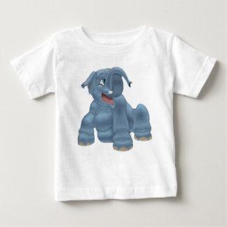 T-shirt Pour Bébé La dunette I aiment un éléphant