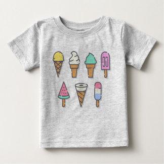 T-shirt Pour Bébé La glace badine le dessus - choisissez votre