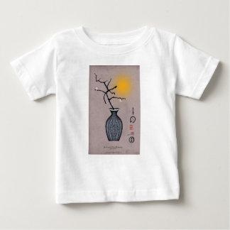 T-shirt Pour Bébé la lune élégante des fernandes et la fleur de 2