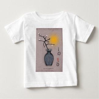 T-shirt Pour Bébé la lune élégante des fernandes et la fleur de 4