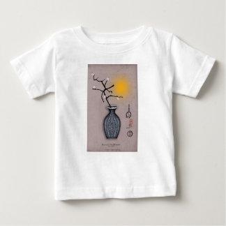 T-shirt Pour Bébé la lune élégante des fernandes et la fleur de 5