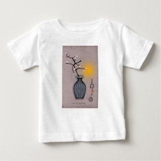 T-shirt Pour Bébé la lune élégante des fernandes et la fleur de 8