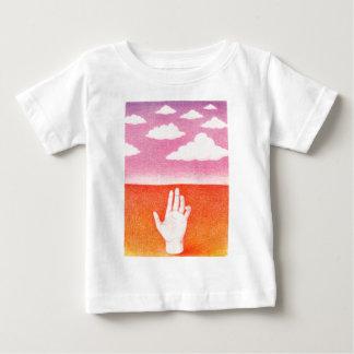 T-shirt Pour Bébé La Main