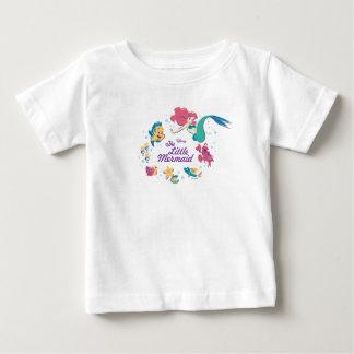 T-shirt Pour Bébé La petite sirène et la mer