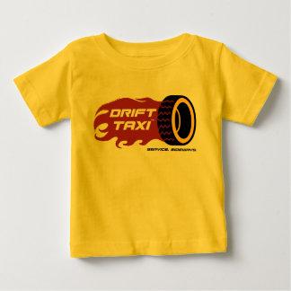 T-shirt Pour Bébé La pièce en t de bébé de taxi de dérive