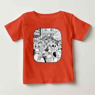 T-shirt Pour Bébé La pièce en t de l'enfant de mars Chicago des