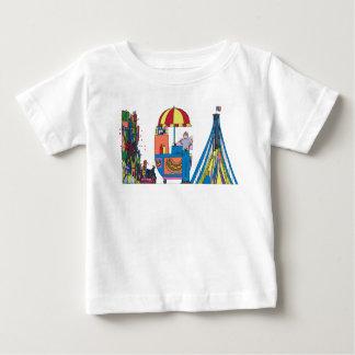 T-shirt Pour Bébé La pièce en t | NEW YORK, NY (LGA) du bébé