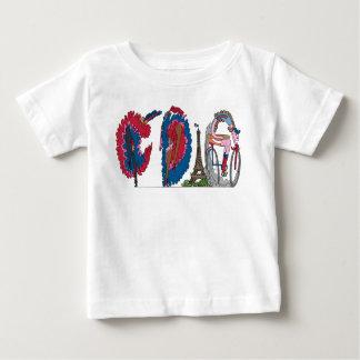 T-shirt Pour Bébé La pièce en t | PARIS, franc (CDG) du bébé