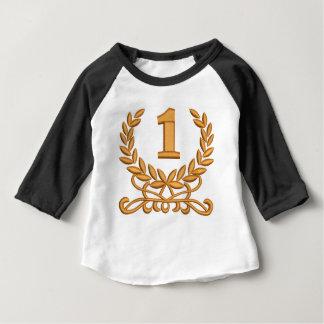 T-shirt Pour Bébé la première - imitation de la broderie de machine