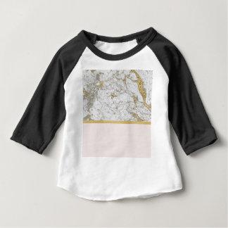 T-shirt Pour Bébé La Riviera d'or rougissent marbre