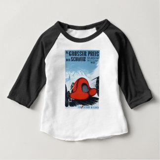 T-shirt Pour Bébé La Suisse 1937 Grand prix emballant l'affiche