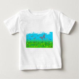 T-shirt Pour Bébé La valse des papillons