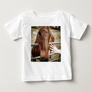 T-shirt Pour Bébé La vie de cheval