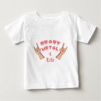 T-shirt Pour Bébé La vie du métal lourd 4