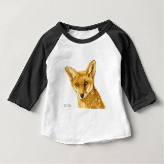 T-shirt Pour Bébé La vie sauvage rouge britannique de Fox