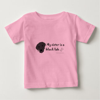 T-shirt Pour Bébé laboratoire noir