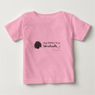 T-shirt Pour Bébé labradoodle