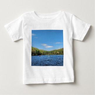 T-shirt Pour Bébé Lac caché Kayaking valley