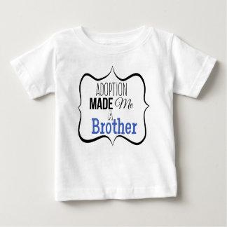 T-shirt Pour Bébé L'adoption m'a fait un frère