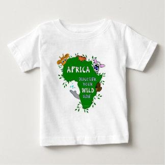 T-shirt Pour Bébé L'Afrique sauvage