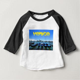T-shirt Pour Bébé Lagune bleue à Venise, Italie