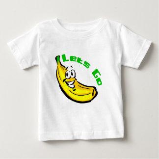 T-shirt Pour Bébé Laisse aller des bananes