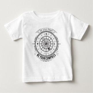 T-shirt Pour Bébé Laissez votre coeur être votre boussole