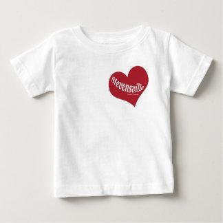 T-shirt Pour Bébé L'amour Stevensville badine la pièce en t